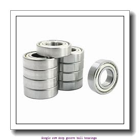 45 mm x 75 mm x 16 mm  SNR 6009ZC3 Single row deep groove ball bearings