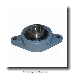 skf FYTWK 1.1/4 YTH Ball bearing oval flanged units