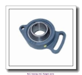 skf PFT 30 WF Ball bearing oval flanged units