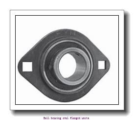 skf PFT 25 FM Ball bearing oval flanged units
