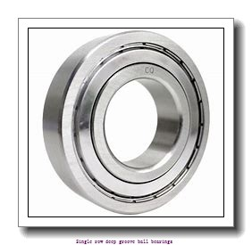 45 mm x 75 mm x 16 mm  NTN 6009NR Single row deep groove ball bearings