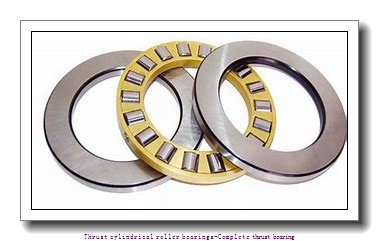 NTN 81117T2 Thrust cylindrical roller bearings-Complete thrust bearing