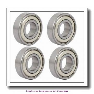60 mm x 95 mm x 18 mm  NTN 6012NR Single row deep groove ball bearings