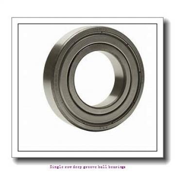 45 mm x 75 mm x 16 mm  NTN 6009ZZNR/2AS Single row deep groove ball bearings