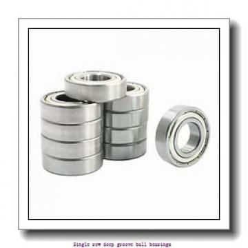 55 mm x 90 mm x 18 mm  NTN 6011CM Single row deep groove ball bearings