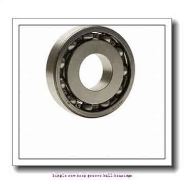 55 mm x 90 mm x 18 mm  NTN 6011Z Single row deep groove ball bearings