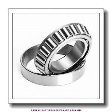 77,788 mm x 127 mm x 23,012 mm  NTN 4T-34306/34500 Single row tapered roller bearings