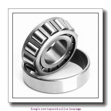 36,512 mm x 88,5 mm x 23,698 mm  NTN 4T-44143/44348 Single row tapered roller bearings