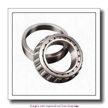44,45 mm x 88,5 mm x 40,386 mm  NTN 4T-4370/4320 Single row tapered roller bearings
