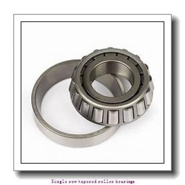 50,8 mm x 104,775 mm x 30,958 mm  NTN 4T-45284/45220 Single row tapered roller bearings