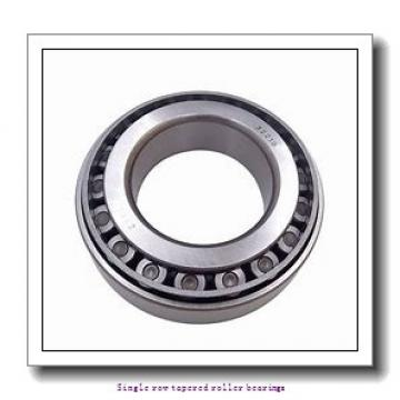 76,2 mm x 121,442 mm x 23,012 mm  NTN 4T-34300/34478 Single row tapered roller bearings
