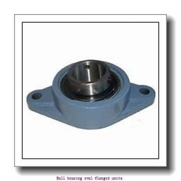 1.2500 in x 4.5938 in x 96 mm  1.2500 in x 4.5938 in x 96 mm  skf F2B 104S-RM Ball bearing oval flanged units