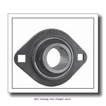 skf F2B 20M-WF Ball bearing oval flanged units