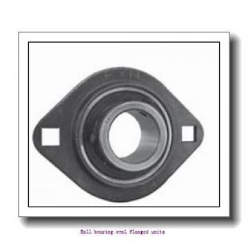 skf FYTWR 1.1/4 YTHR Ball bearing oval flanged units