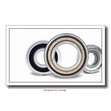 25 mm x 47 mm x 12 mm  skf W 6005-2Z Deep groove ball bearings