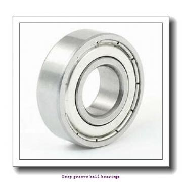 8 mm x 24 mm x 8 mm  skf W 628 Deep groove ball bearings