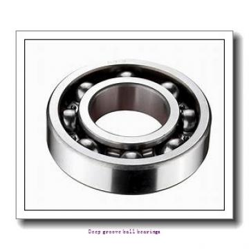 25 mm x 52 mm x 15 mm  skf 6205 Deep groove ball bearings