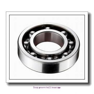 9 mm x 26 mm x 8 mm  skf W 629 Deep groove ball bearings