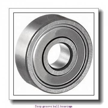 35 mm x 47 mm x 7 mm  skf W 61807-2RZ Deep groove ball bearings