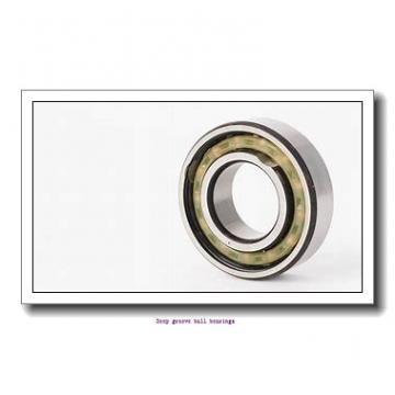 7 mm x 19 mm x 6 mm  skf W 607 Deep groove ball bearings