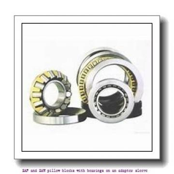 skf SAW 23538 T SAF and SAW pillow blocks with bearings on an adapter sleeve