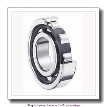 100 mm x 215 mm x 73 mm  NTN NUP2320G1 Single row cylindrical roller bearings