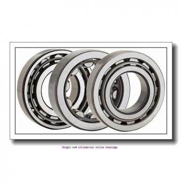 30 mm x 72 mm x 27 mm  NTN NUP2306ET2XC3 Single row cylindrical roller bearings