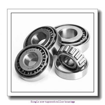 63,5 mm x 104,775 mm x 22 mm  NTN 4T-39250/39412 Single row tapered roller bearings