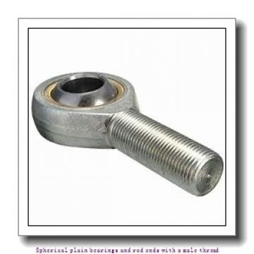 skf SA 50 ES-2RS Spherical plain bearings and rod ends with a male thread
