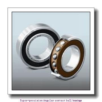 30 mm x 62 mm x 16 mm  skf 7206 CD/P4A Super-precision Angular contact ball bearings