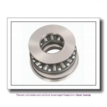 NTN 81110T2 Thrust cylindrical roller bearings-Complete thrust bearing