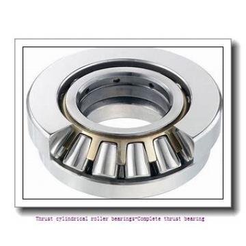 NTN 81220 Thrust cylindrical roller bearings-Complete thrust bearing