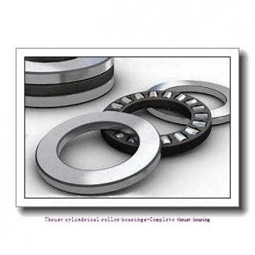 NTN 81214T2 Thrust cylindrical roller bearings-Complete thrust bearing
