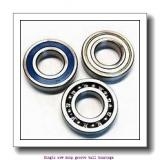 60,000 mm x 95,000 mm x 18,000 mm  NTN 6012LU Single row deep groove ball bearings