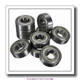 5 mm x 9 mm x 3 mm  skf W 637/5 X-2ZS Deep groove ball bearings