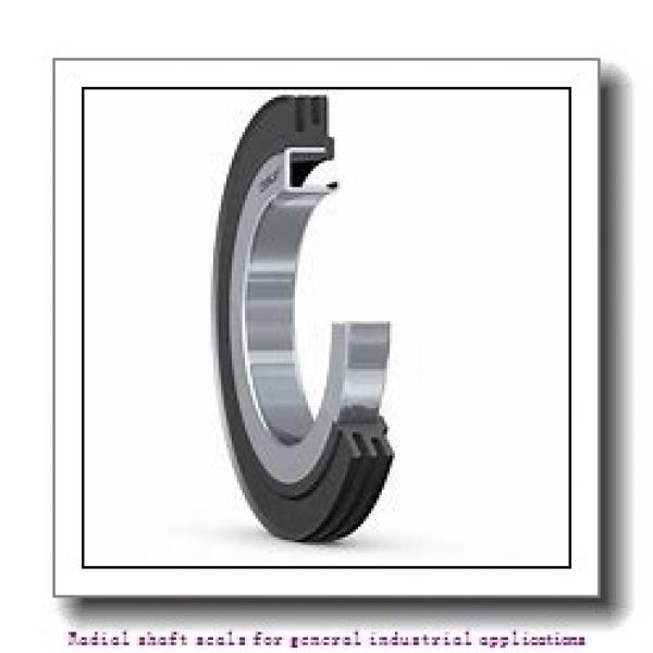 skf 40X70X8 CRW1 R Radial shaft seals for general industrial applications #2 image