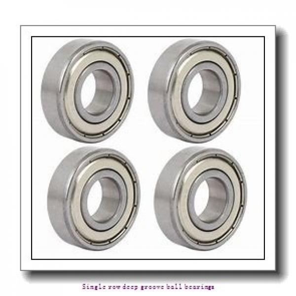 45 mm x 75 mm x 16 mm  NTN 6009LLU/5K Single row deep groove ball bearings #1 image