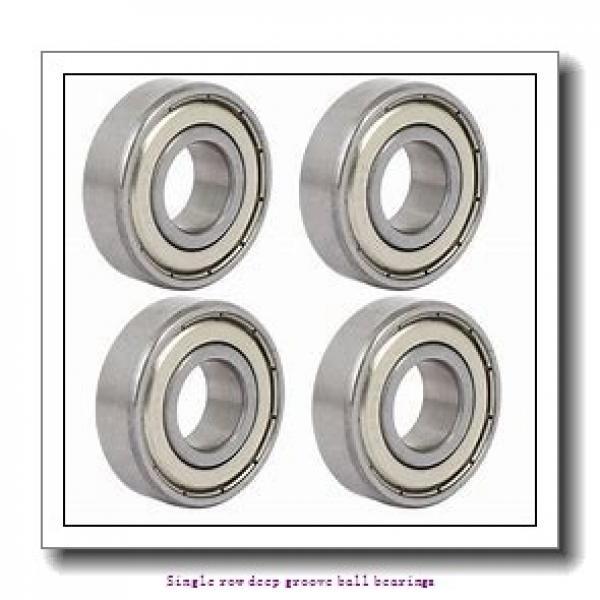 60 mm x 95 mm x 18 mm  NTN 6012NR Single row deep groove ball bearings #2 image