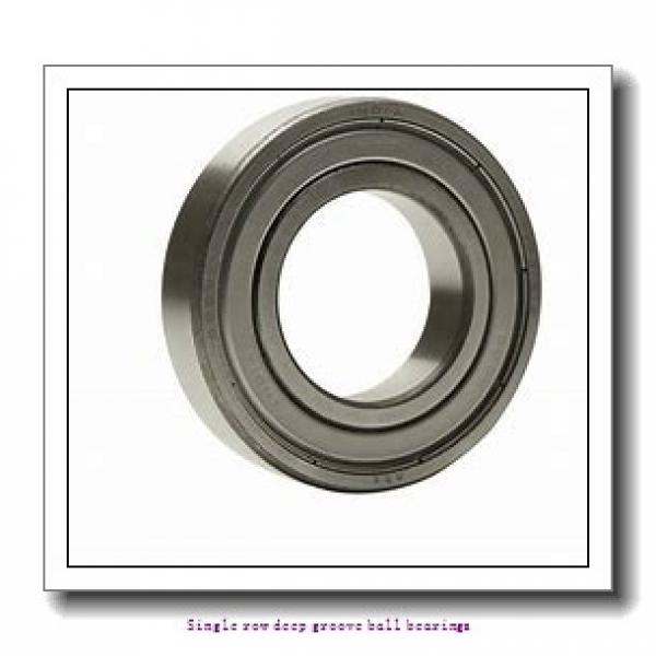 45 mm x 75 mm x 16 mm  NTN 6009ZZNR/2AS Single row deep groove ball bearings #2 image