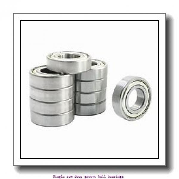 60 mm x 95 mm x 18 mm  NTN 6012ZC3 Single row deep groove ball bearings #1 image