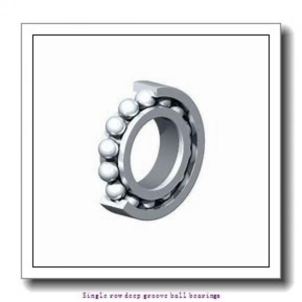 60 mm x 95 mm x 18 mm  NTN 6012Z Single row deep groove ball bearings #1 image