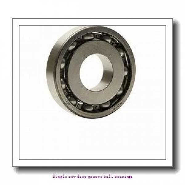 55 mm x 90 mm x 18 mm  NTN 6011NR Single row deep groove ball bearings #2 image