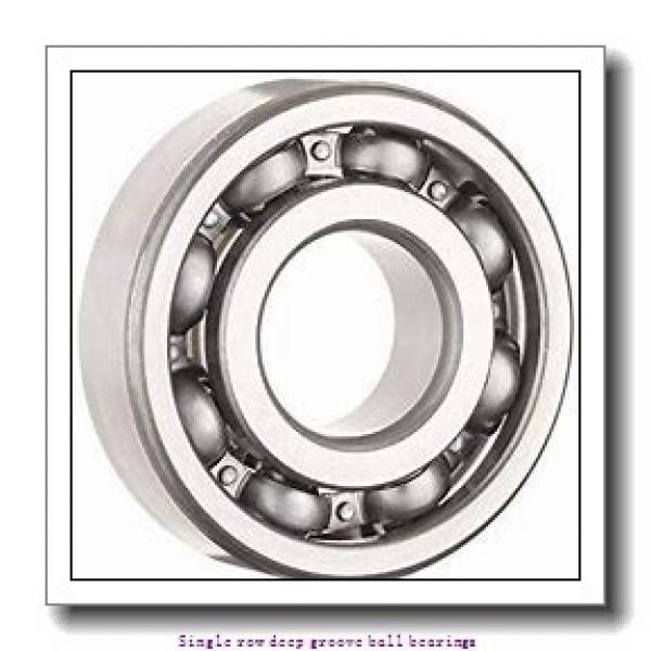 40 mm x 68 mm x 15 mm  NTN 6008LLBC3/2AS Single row deep groove ball bearings #2 image