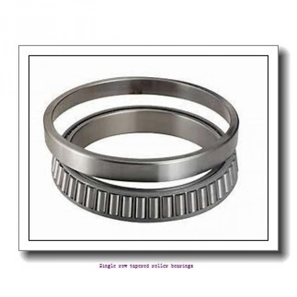 40 mm x 88,5 mm x 29,083 mm  NTN 4T-420/414 Single row tapered roller bearings #1 image