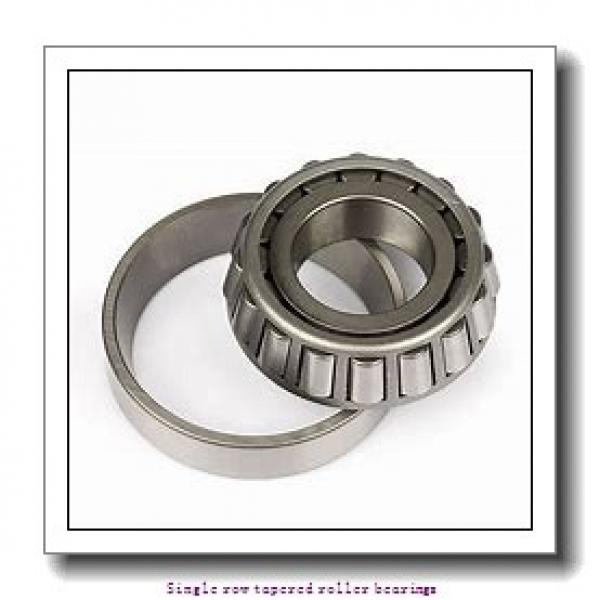 57,15 mm x 98,425 mm x 21,946 mm  NTN 4T-387A/382 Single row tapered roller bearings #1 image