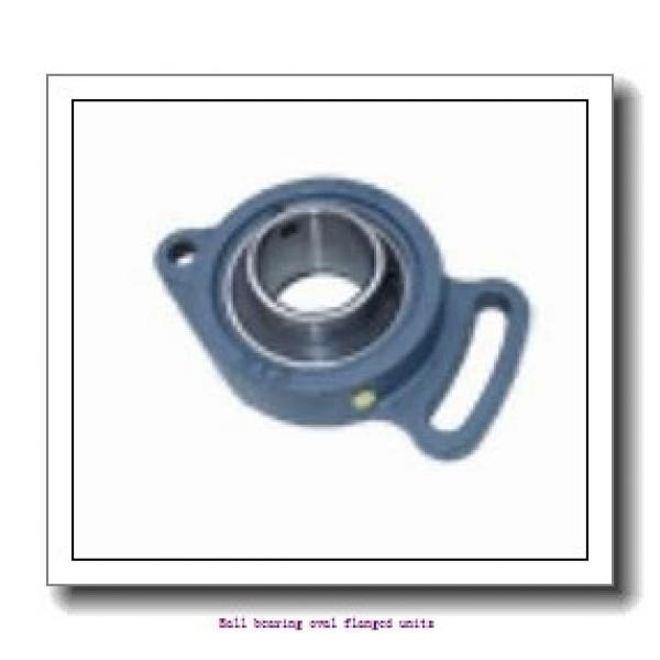 skf F2BC 30M-TPZM Ball bearing oval flanged units #1 image