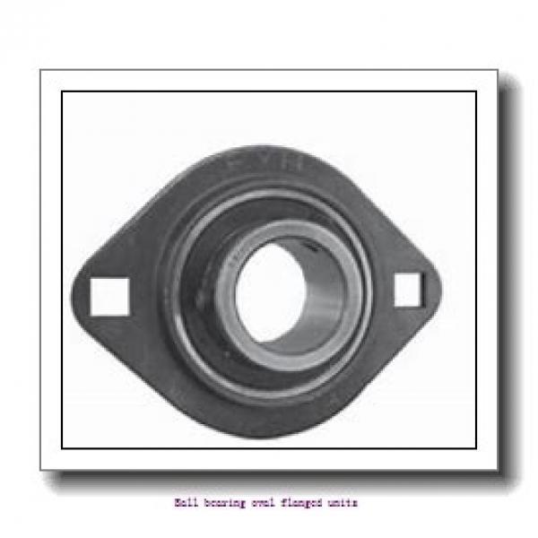 skf FYTWR 1.1/4 YTHR Ball bearing oval flanged units #1 image