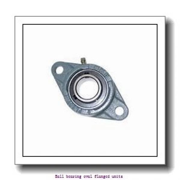 skf UCFL 206 Ball bearing oval flanged units #1 image