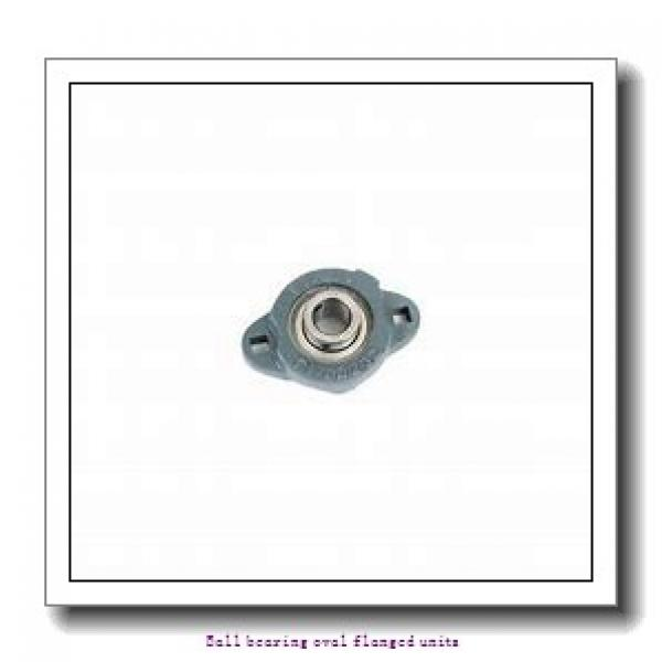 skf UCFL 206/H Ball bearing oval flanged units #1 image