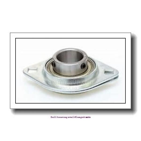 skf FYTB 25 FM Ball bearing oval flanged units #2 image